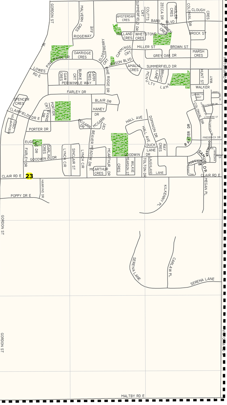 Image Result For Ball State Campus Map
