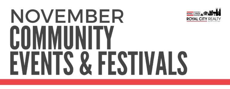 Guelph Events Calendar - November