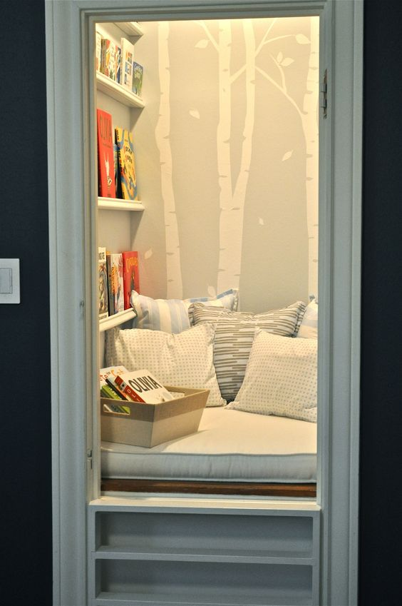Repurpose and read reading nook