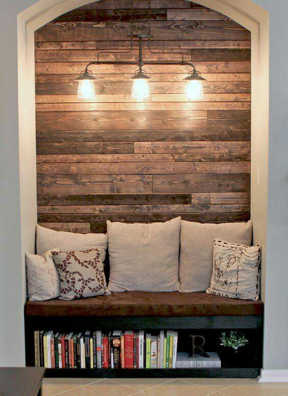 Study and store reading nook