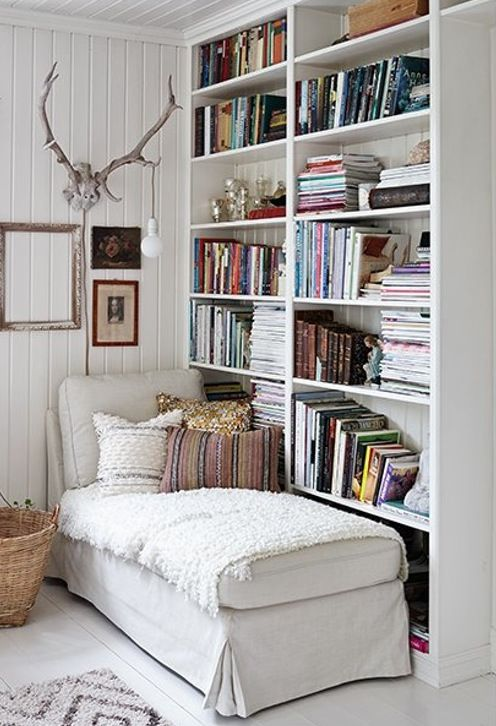 relax and read reading nook