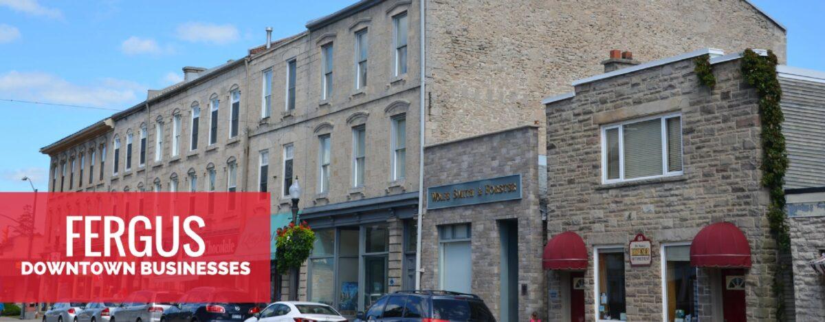 Downtown Fergus Businesses