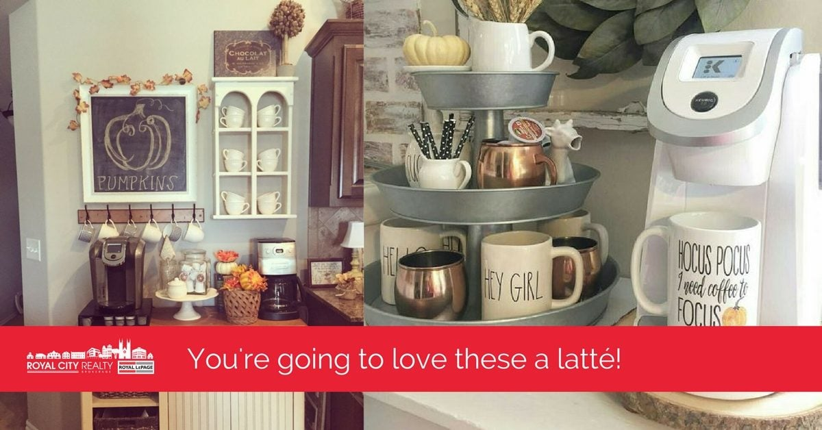 Picture Perfect Coffee Bars For Your Home This Fall