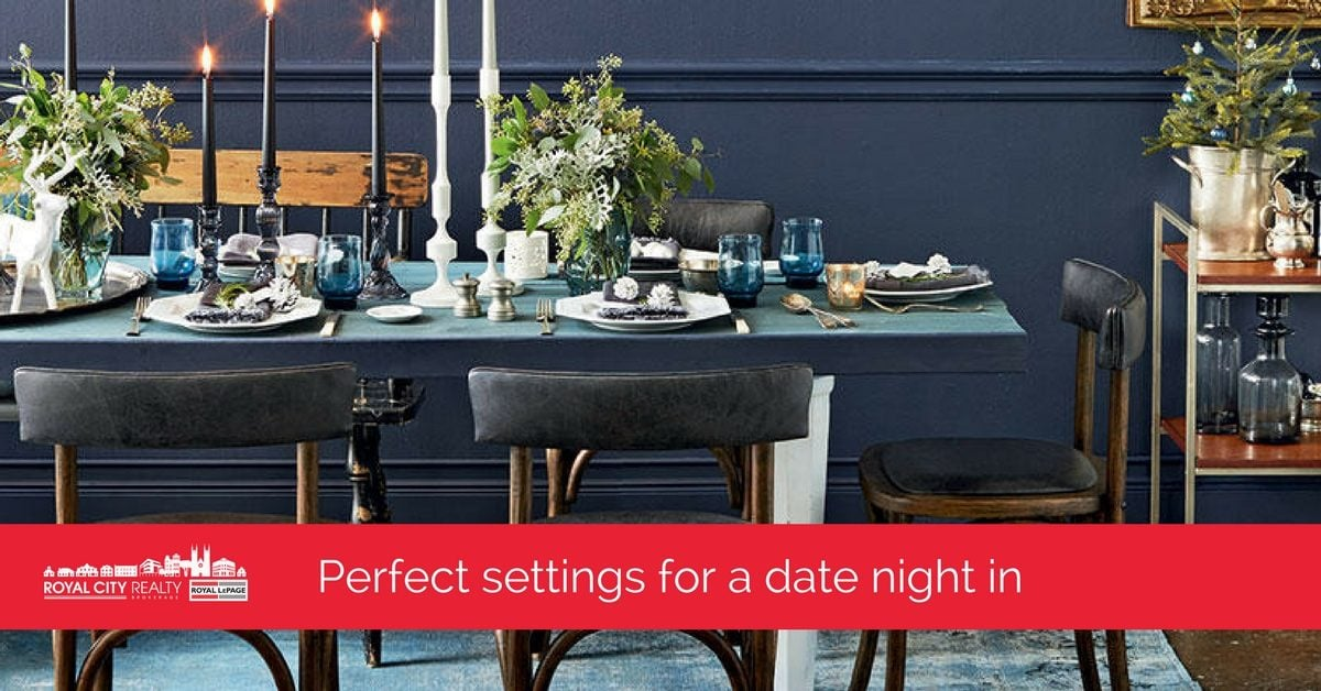 Romantic Dining Room Decor