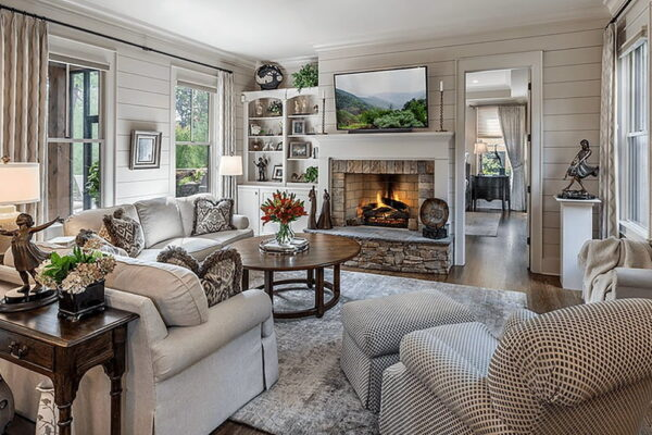 Create a Warm & Cozy Living Room