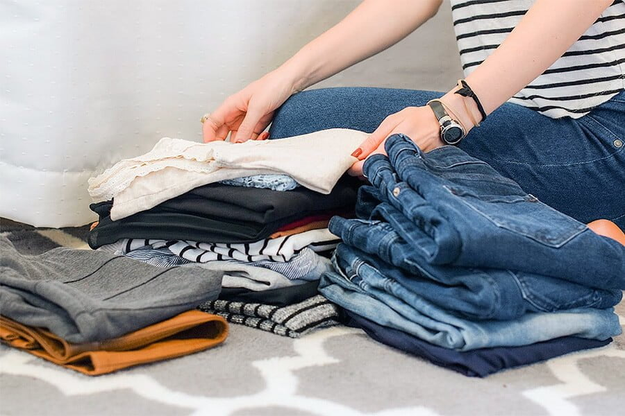 Getting Rid of old Clothing